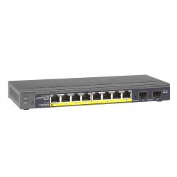 Netgear 10 Port PoE Switch GS110TP