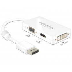DeLock Displayport - HDMI/VGA/DVI-D Adapter