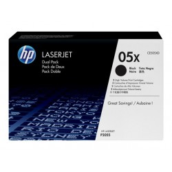 HP 05XD BLACK 2 x 6.500 pages