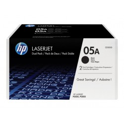 HP 05A BLACK  2 x 2.300 pages